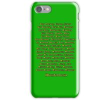 Mighty Ducks D2 Roster iPhone Case/Skin