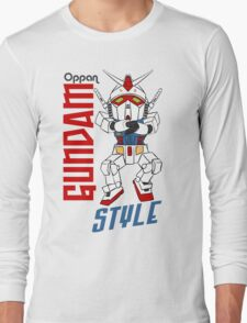 Oppan Gundam Style Long Sleeve T-Shirt