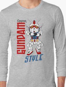 Oppan Gundam Style Long Sleeve T-Shirt