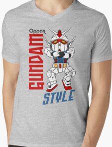 Oppan Gundam Style Mens V-Neck T-Shirt