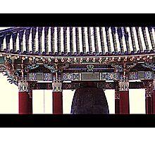 Korean Friendship Bell Photographic Print