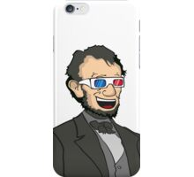 Lincoln. In 3D. iPhone Case/Skin