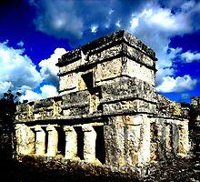 Tulum Ruins by Rebekah Ormstrup