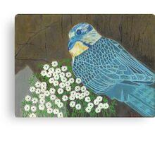 Perched Falcon Canvas Print