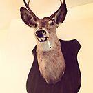 Deer Smoking by SeanFitz