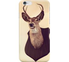 Deer Smoking iPhone Case/Skin