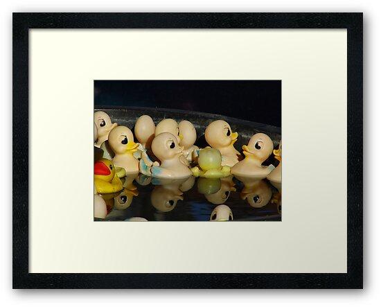 Rubber Duckies by WildestArt