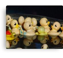 Rubber Duckies Canvas Print