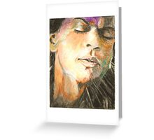 Dilwale Emotion-King Khan Shtyle Greeting Card