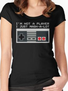 Not a Player Women's Fitted Scoop T-Shirt
