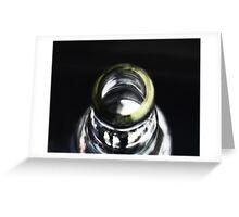 Bottle Neck Greeting Card