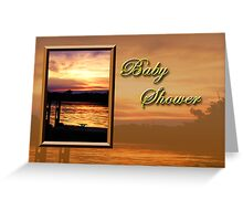 Baby Shower Pier Greeting Card