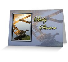 Baby Shower Fish Greeting Card