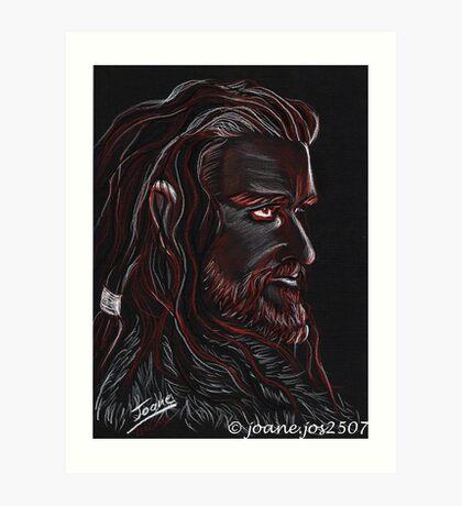 Thorin Oakenshield, Dark King Art Print