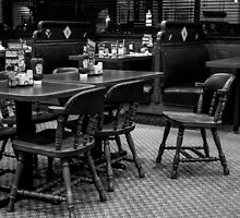 Empty Chairs At Empty Tables by Nevermind the Camera Photography