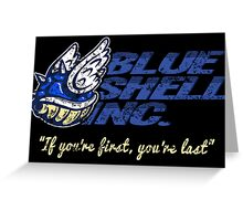 Blue Shell Inc. Greeting Card