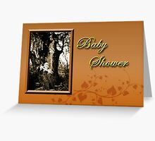 Baby Shower Willow Tree Greeting Card