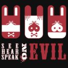See, hear, speak Evil by trossi