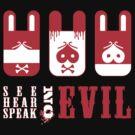 See, hear, speak Evil by trossi