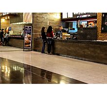 Food Court Photographic Print