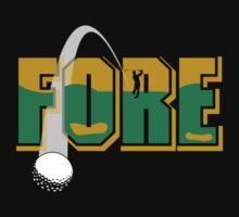 "Golf ""FORE"" Kids Clothes"