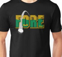 "Golf ""FORE"" Unisex T-Shirt"