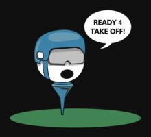Funny Golf Ball by SportsT-Shirts