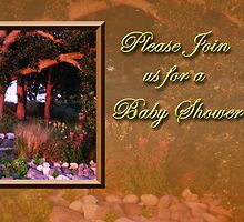 Please Join Us For A Baby Shower Woods by jkartlife