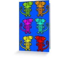 A Splash of Colour Greeting Card