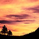 Red Rocks Sunset, Boulder Colorado by Greg Summers