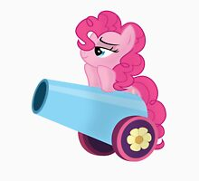 Pinkie Pie and party cannon. Unisex T-Shirt