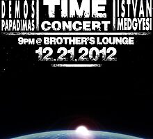 End of Time Concert Poster by Noah Heyman