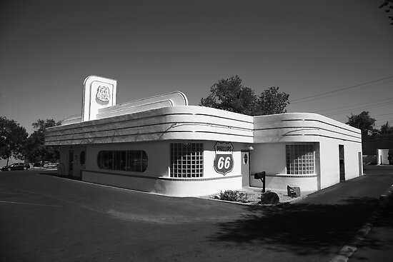 Route 66 Diner by Frank Romeo