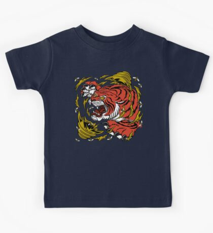 TIGER BEE ATTACK Kids Tee