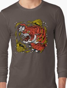 TIGER BEE ATTACK Long Sleeve T-Shirt