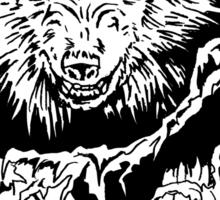 WOLF ATTACK Sticker