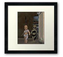 Oh, Children Framed Print