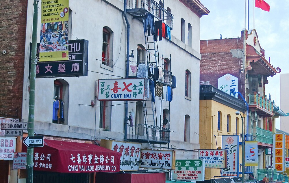 Old Chinatown by David Denny