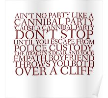 Ain't No Party - Hannibal (Herring Red) Poster
