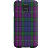 00334 South Lanarkshire District Tartan Fabric Print Iphone Case Samsung Galaxy Case/Skin