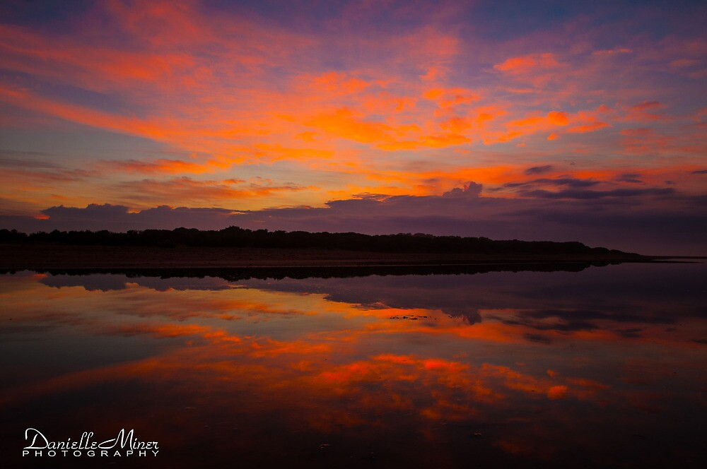 Sunrise Reflections by Danielle  Miner