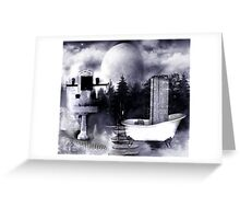 NATURE CLEANSE Greeting Card