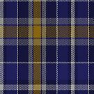 00346 Monaghan County, Crest Range District Tartan Fabric Print Iphone Case by Detnecs2013