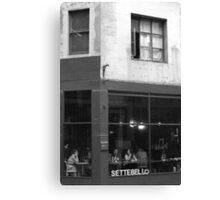 Cafe Interlude Canvas Print