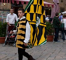 Flag Man by phil decocco