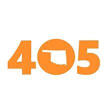 405 Oklahoma Proud Orange by 8thDesigns