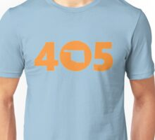 405 Oklahoma Proud Orange Unisex T-Shirt