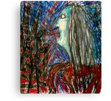 Haggle Web Canvas Print