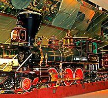 "Virginia and Truckee ""Engine "" by Lynn Bawden"