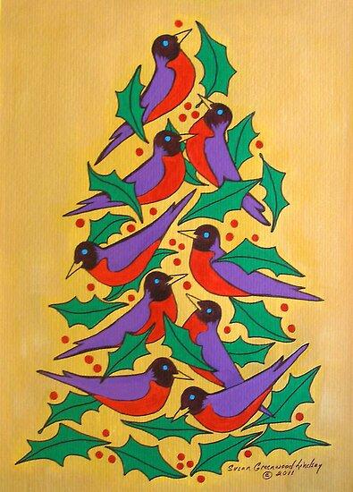 Fiesta of Robbins by Susan Greenwood Lindsay